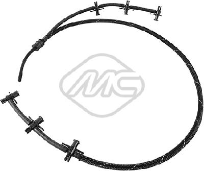 Tuyau de carburant de fuite injecteur Metalcaucho 33031 (X1)