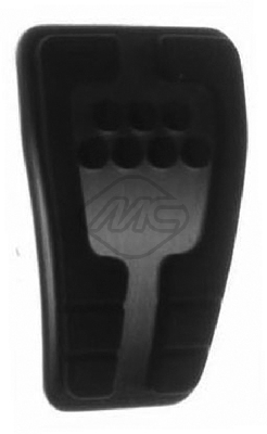 Revetement pédales Metalcaucho 57101 (X1)