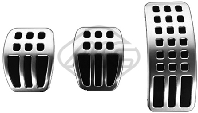 Revetement pédales Metalcaucho 57816 (X1)
