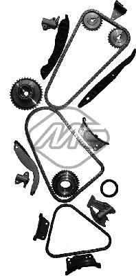 Chaine de distribution Metalcaucho 58217 (X1)