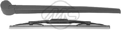 Balai d'essuie-glace arriere Metalcaucho 68124 (X1)