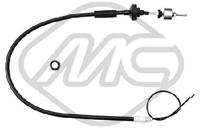 Cable d'embrayage Metalcaucho 80073 (X1)