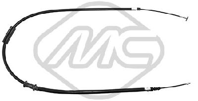Cable de frein à main Metalcaucho 80477 (X1)