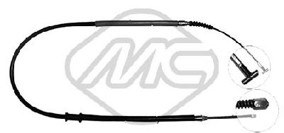 Cable de frein à main Metalcaucho 81280 (X1)