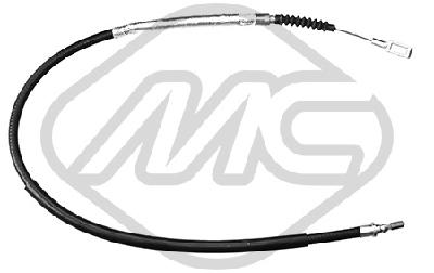 Kit de traction par chaîne du frein à main Metalcaucho 81344 (X1)