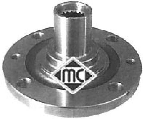 Moyeu de roue Metalcaucho 90001 (X1)