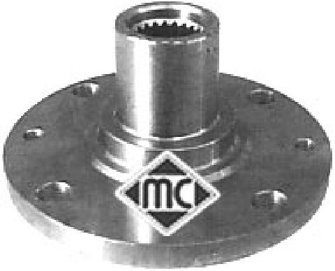 Moyeu de roue Metalcaucho 90002 (X1)