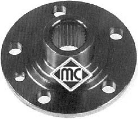 Moyeu de roue Metalcaucho 90038 (X1)