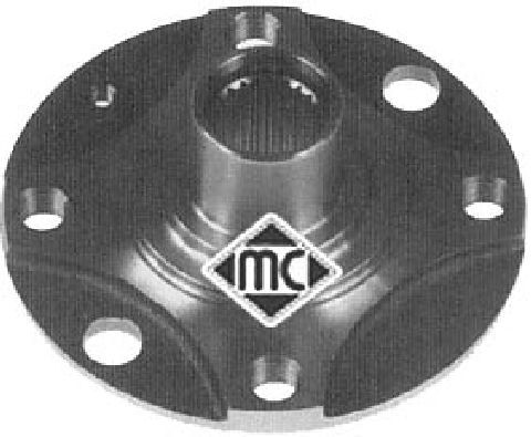 Moyeu de roue Metalcaucho 90042 (X1)