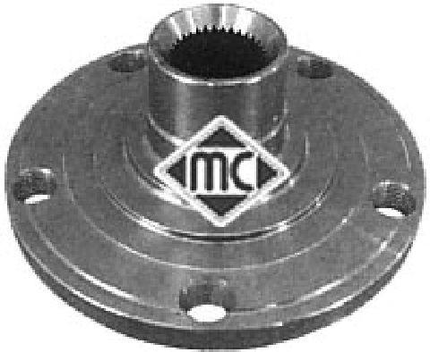 Moyeu de roue Metalcaucho 90053 (X1)