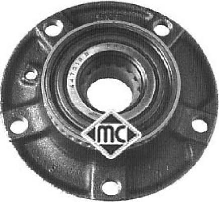 Moyeu de roue Metalcaucho 90057 (X1)