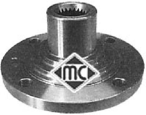 Moyeu de roue Metalcaucho 90074 (X1)