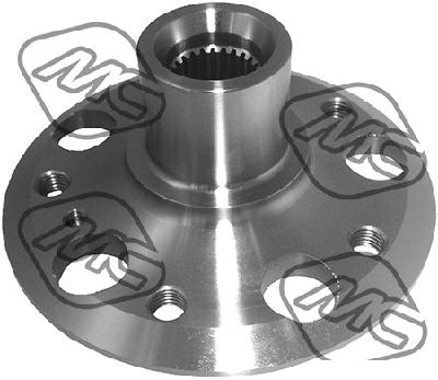 Roulement / moyeu / roue Metalcaucho 90177 (X1)