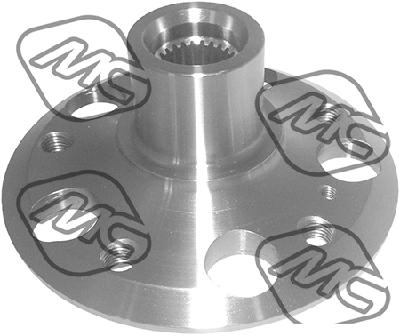 Roulement / moyeu / roue Metalcaucho 90180 (X1)