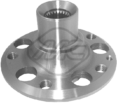 Roulement / moyeu / roue Metalcaucho 90182 (X1)