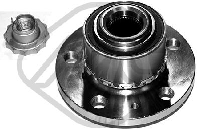 Moyeu de roue Metalcaucho 90204 (X1)