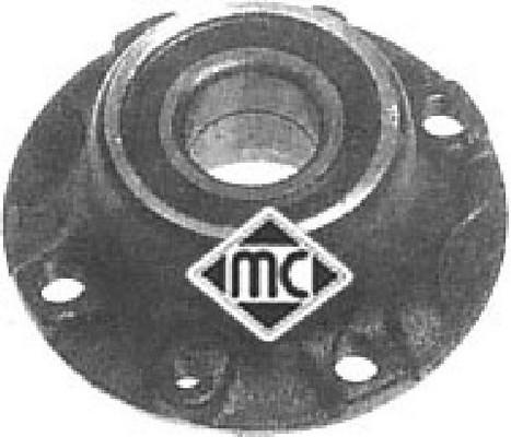 Moyeu de roue Metalcaucho 90508 (X1)