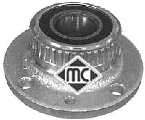 Moyeu de roue Metalcaucho 90523 (X1)