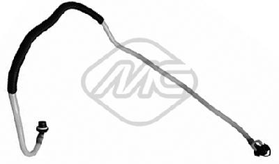 Conduite alimentation carburant Metalcaucho 92103 (X1)