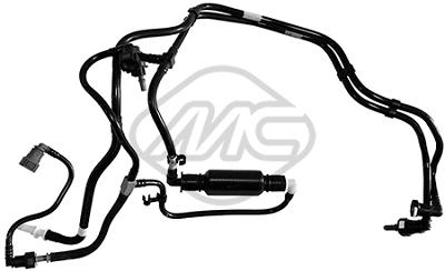 Conduite alimentation carburant Metalcaucho 92122 (X1)