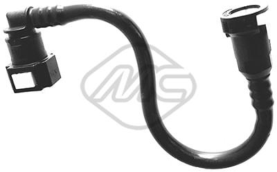 Conduite alimentation carburant Metalcaucho 92128 (X1)
