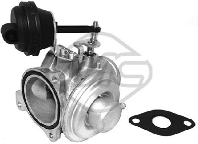 Soupape, réaspiration/contrôle des gaz d'échappement Metalcaucho 93011 (X1)