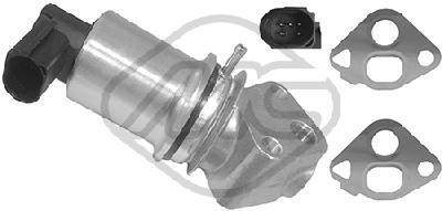 Soupape, réaspiration/contrôle des gaz d'échappement Metalcaucho 93022 (X1)