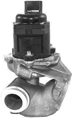 Soupape, réaspiration/contrôle des gaz d'échappement Metalcaucho 93023 (X1)