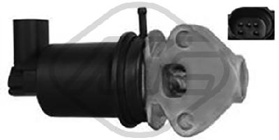 Soupape, réaspiration/contrôle des gaz d'échappement Metalcaucho 93029 (X1)