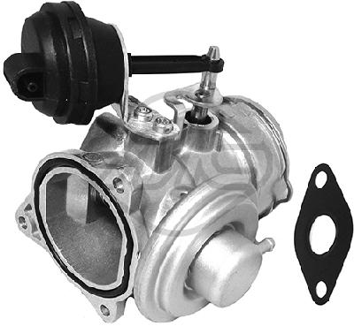 Soupape, réaspiration/contrôle des gaz d'échappement Metalcaucho 93035 (X1)