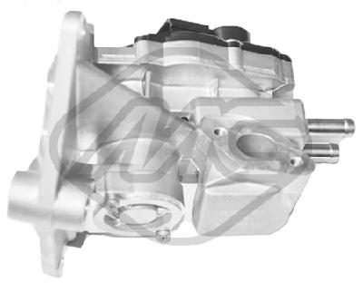 Soupape, réaspiration/contrôle des gaz d'échappement Metalcaucho 93080 (X1)