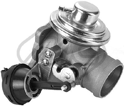 Soupape, réaspiration/contrôle des gaz d'échappement Metalcaucho 93087 (X1)