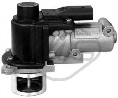 Soupape, réaspiration/contrôle des gaz d'échappement Metalcaucho 93090 (X1)