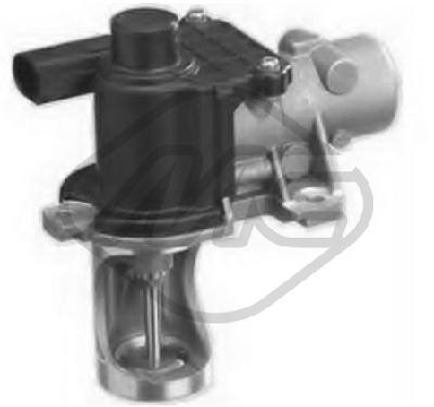 Soupape, réaspiration/contrôle des gaz d'échappement Metalcaucho 93091 (X1)
