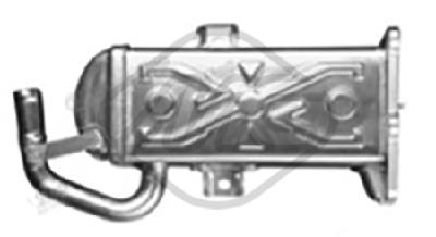 Refroidisseur d'echappement Metalcaucho 93098 (X1)