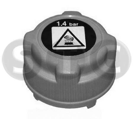 Bouchon, reservoir de liquide de refroidissement STC T403795 (X1)