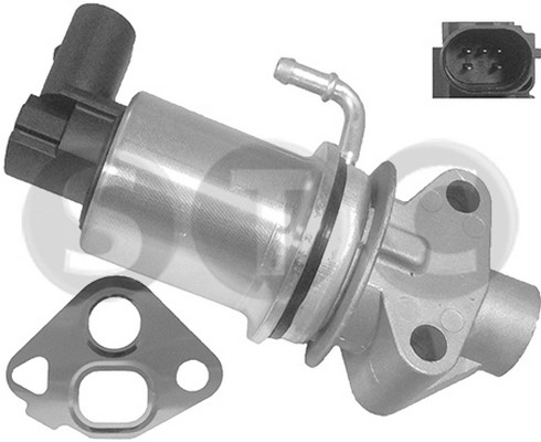Soupape, réaspiration/contrôle des gaz d'échappement STC T493024 (X1)