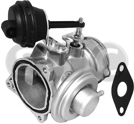 Soupape, réaspiration/contrôle des gaz d'échappement STC T493035 (X1)