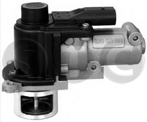 Soupape, réaspiration/contrôle des gaz d'échappement STC T493090 (X1)