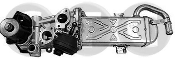 Soupape, réaspiration/contrôle des gaz d'échappement STC T493097 (X1)