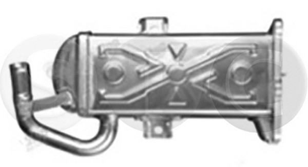 Refroidisseur d'echappement STC T493098 (X1)