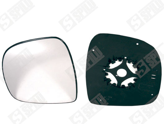 Glace de retroviseur exterieur SPILU 11842 (X1)