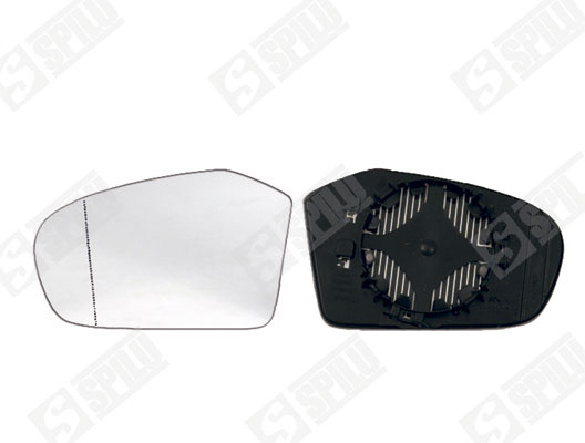 Glace de retroviseur exterieur SPILU 11851 (X1)
