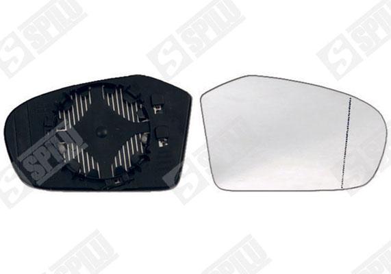 Glace de retroviseur exterieur SPILU 11854 (X1)