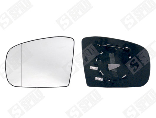Glace de retroviseur exterieur SPILU 11874 (X1)