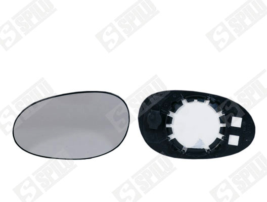 Glace de retroviseur exterieur SPILU 12901 (X1)
