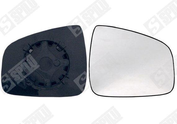 Glace de retroviseur exterieur SPILU 14302 (X1)