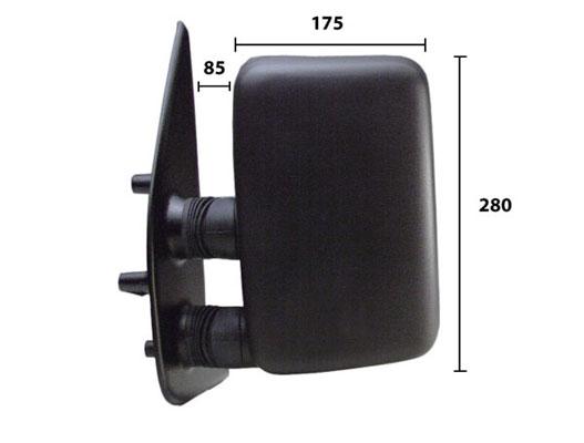 Retroviseur exterieur complet SPILU 50503 (X1)