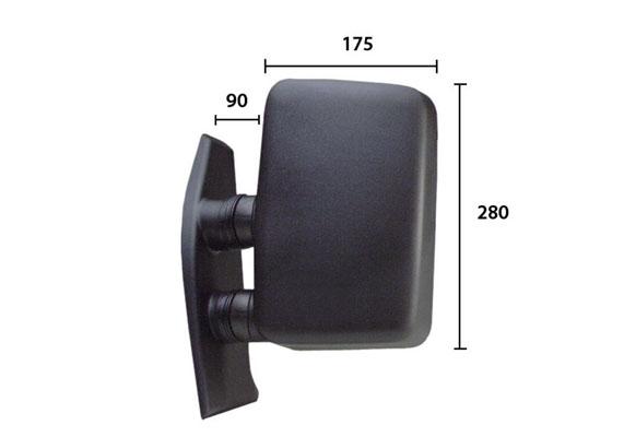 Retroviseur exterieur complet SPILU 50587 (X1)
