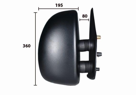 Retroviseur exterieur complet SPILU 50610 (X1)
